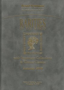 Rarities of the World, Autumn 2010, David Feldman, Geneva, Nov 17, 2010, Catalog