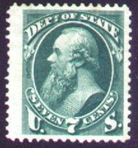 MALACK O61 VF/XF JUMBO P-OG, a very large stamp with..MORE.. n132