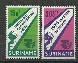 Suriname - 1975 - NVPH 644-45 - MNH - ZO182