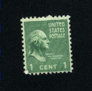USA #804  1  used 1938 -1954 PD .08