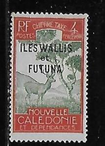 Wallis and Futuna Islands J12 Postage Dues single MLH