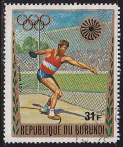 Burundi C160 XX Summer Olympic Games, Munich 1972