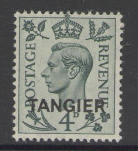 MOROCCO AGENCIES SG264 1949 4d GREY-GREEN MTD MINT
