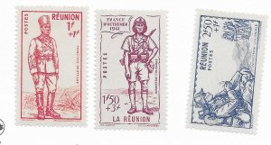 French Guinea #B10-12 MH - Stamp - CAT VALUE $4.80