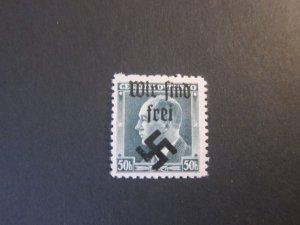 Czechoslovakia 227 MAHR.OSTRAU WIR SIND FREI OVERPRINT OG MNH VF