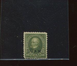 Guam Scott 10 Overprint Mint Stamp (Stock Guam 10-2)