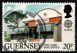 Guernsey 1990 SG. 487 used (10831)