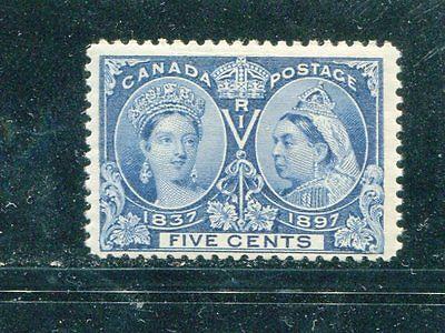 Canada #54  5c  Jubilee Mint NH  lakeshore Philatelics