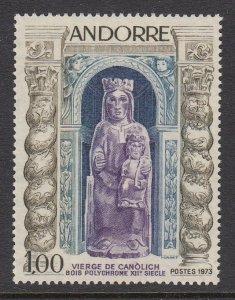Andorra 221 Virgin of Canolich mint