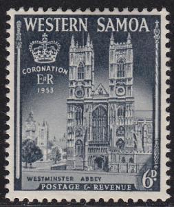 Western Samoa 215 Coronation Issue 1953