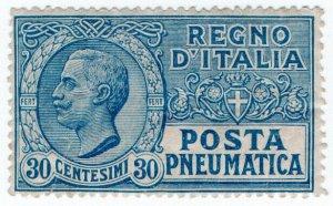 (I.B) Italy Postal : Posta Pneumatica 30c