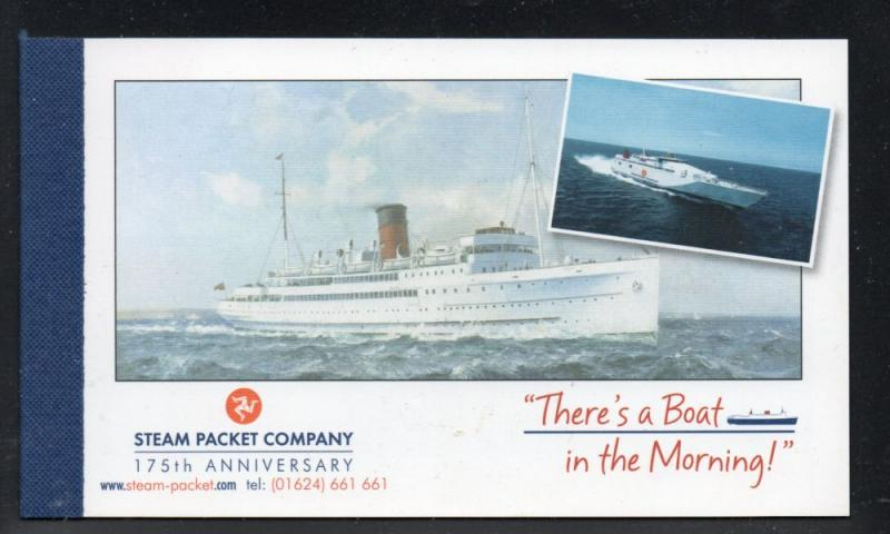Isle of Man 2005 Steam Packet Company stamp booklet mint NH