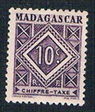 Madagascar J31 MLH Postage Due Numeral (BP1425)