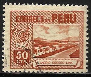 Peru 1951 Scott# 440 Used