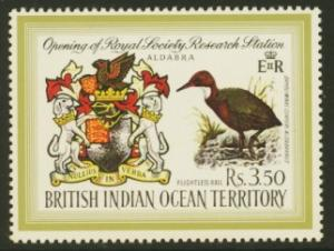 British Indian Ocean Territory Sc# 43 MNH Royal Society Research Station