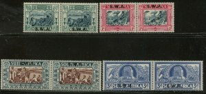 SOUTH WEST AFRICA Sc#B5-8 SG105-8 1938 Voortrekker Centenary OG M LH