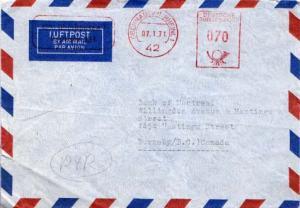 Germany, Meters, Airmail