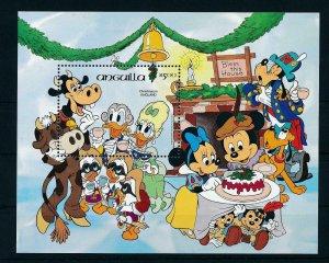 [22107] Anguilla 1984 Disney Christmas in England MNH