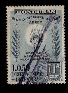 Honduras  Scott C308 Used stamp