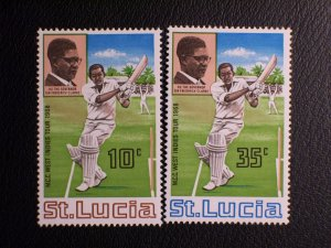 Saint Lucia Scott #229-230 mnh