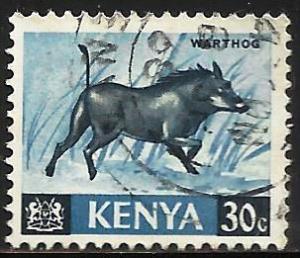 Kenya 1966 Scott# 24 Used