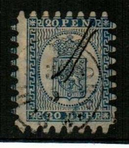 Finland Scott 9 Used (Catalog Value $87.50)
