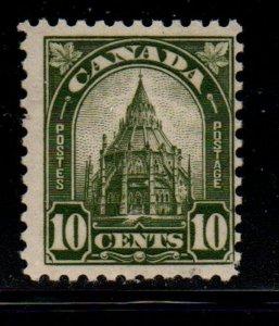 Canada Sc  173 1930 10c Parliament Library stamp mint NH