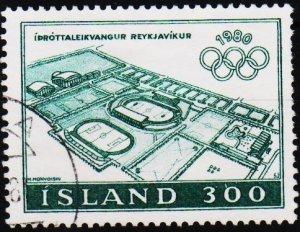 Iceland. 1980 300k S.G.589 Fine Used