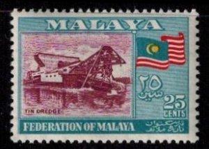 Malaya 82 MNH Superb  Bright Color