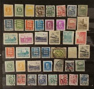 ESTONIA Stamp Lot Used MH T2311