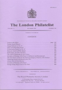 THE CHINA HANDSTAMP Early Cover Postal History Specialised philatelic-literature