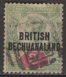 Bechuanaland Protectorate; 1891: Sc. # 34; O/Used Single Stamp