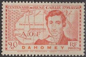 Dahomey 1939: Sc. # 108; **/MNH Single Stamp