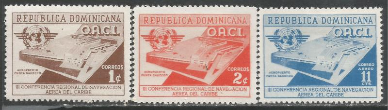 DOMINICAN REPUBLIC 469-70 C95 MOG L1117
