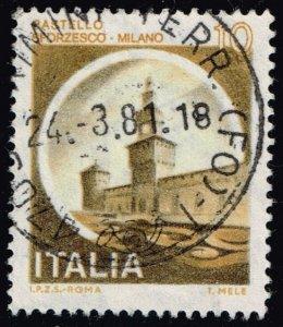 Italy #1409 Sforzesco Castle; Used (3Stars)