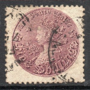 New South Wales: 1888 QVI 5/- SG 181 used