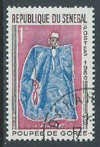 Senegal, Sc #261, 1fr Used