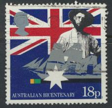 Great Britain SG 1396  Used   - Australia BiCentenary