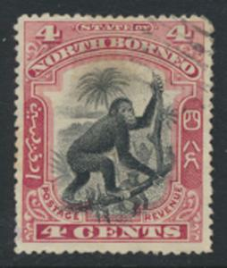 North Borneo  SG 99b   Used  perf 15½ please see scan & details