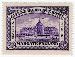 (I.B) Cinderella : 4th Philatelic Congress (Margate 1912)
