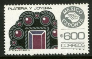 MEXICO Exporta 1497 $600P Jewellery Fluor Paper 13 MINT, NH. VF.