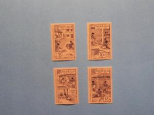 St. Lucia - 706-09, MNH Set. Abolition of Slavery. SCV - $1.50