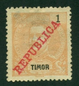 Timor 1911 #107a U SCV(2020)=$7.00