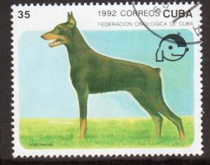 Cuba 3397 - CTO - Doberman Pinscher (cv $0.30)