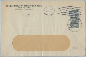 74579 - VENEZUELA - POSTAL HISTORY -  RESELLADO stamp on COVER 1935
