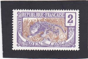 Middle Congo # 2 unused
