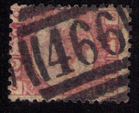 Great Britain Sc #58 (P10) Used F-VF