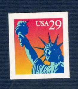 2599 Statue Of Liberty Single Mint/nh (Free Shipping)