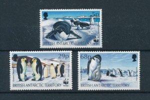 [102941] British Antarctic Territory 1992 Birds vögel penguins From set MNH