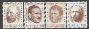 NORWAY, 639-642, H, VOGT